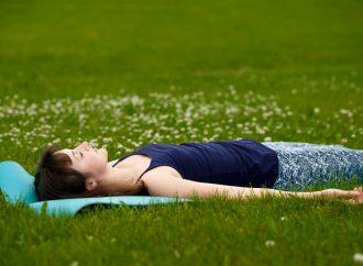 Meditáció fekve